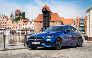 Mercedes-Benz Klasy C jak mała Klasa S