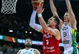 Litwa - Polska 88:69. Koszykarze nie pojadą na igrzyska olimpijskie