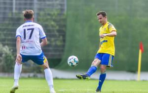Arka Gdynia - Olimpia Elbląg 5:1 w sparingu. Martin Dobrotka zadebiutował golem