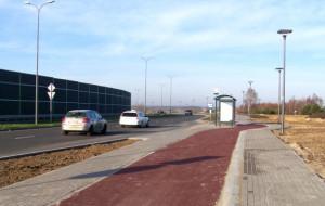 Lotniskowy odcinek Trasy Słowackiego na trzy z plusem