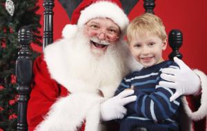 Św. Mikołaj będzie bawił się z dziećmi