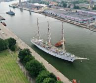 Dar Młodzieży po 10 latach przerwy odwiedza Gdańsk
