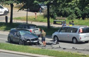 Auto należące do żużlowca skasowane w wypadku