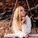 Instagramowe miejsce: huśtawka na plaży w Redłowie