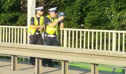 Policjanci z