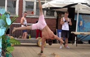 Gdańsk Street Workout. Zachwycili powietrznymi ewolucjami i mięśniami