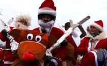 Renifer na dwóch kołach, czyli Mikołaje przejechały przez Trójmiasto