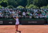BNP Paribas Poland Open Gdynia 2021. Mecz Polki przerwany z powodu ciemności