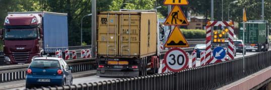 Estakada Kwiatkowskiego: kiedy pełna przejezdność drogi?