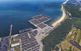 Nowy głębokowodny terminal w Gdańsku. DCT buduje Baltic Hub 3