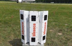 System kamer odstraszy ptaki na lotnisku