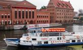 Rejsy statkiem na Wyspę Sobieszewską