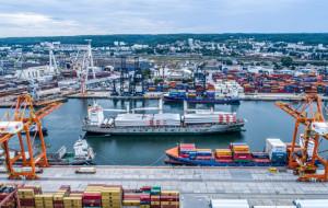 Port instalacyjny w Gdyni na początek tymczasowy
