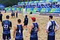 Trefl Gdańsk - Projekt Warszawa 0:2. Porażka w deszczu na początku plażowych zmagań