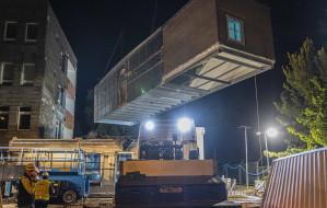 W Gdyni powstaje modułowy szpital dla chorych na COVID-19