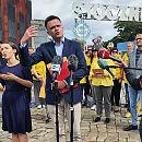 Szymon Hołownia w Gdańsku o uchodźcach i solidarności