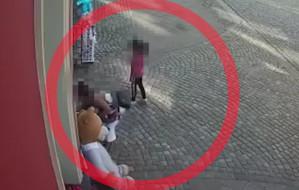 Rodzinna kradzież zabawek w centrum Gdańska