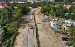 Nowa Warszawska: już widać, którędy pojedzie tramwaj