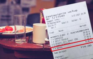Serwis doliczany do rachunku w restauracji - tak czy nie?