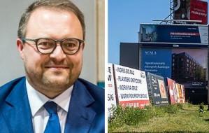 Wiceprezydent Gdyni obiecuje, że nielegalne reklamy znikną w przyszłym roku