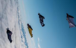 Rekord świata trójmiejskich spadochroniarzy