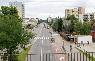 Ulica Kołobrzeska dla rowerzystów wciąż tylko na papierze. Budowa za rok - dwa lata