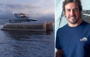 Fernando Alonso kupił elektryczny katamaran Sunreef Yachts