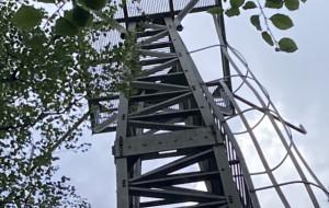 Pogarsza się stan wieży na Rysim Wzgórzu. Jest projekt w BO