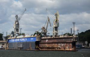 Port Gdynia  i Stocznia Wojenna porozumiały się w sprawie doku pływającego