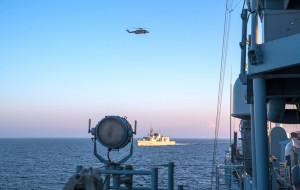 Manewry Zapad: rosyjskie okręty na Bałtyku