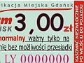 Gdańsk: we wtorek nowy bilet jednoprzejazdowy
