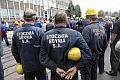 Stoczniowcy wychodzą na ulice Gdyni