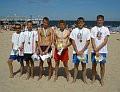 Triumfatorzy siatkówki plażowej z MOSiR Gdańsk