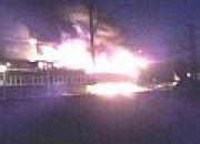Wielki pożar w Bimecie w Oliwie. Zawiodły hydranty na terenie zakładu