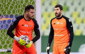 Na kogo postawi Lechia Gdańsk w bramce? Zlatan Alomerović czy Dusan Kuciak?