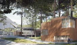 Przy Operze Leśnej powstanie nowy budynek. W środku wystawy, magazyn i bar