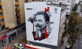 Mural z Tadeuszem Wendą odsłonięty w Gdyni