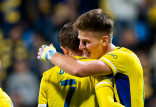 Arka Gdynia - Puszcza Niepołomice 2:0. Karol Czubak strzelił dwa gole