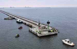 Zakończono kolejny etap modernizacji falochronów w Porcie Gdańsk