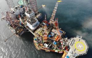 Gaz z platformy Petrobaltic trafił rurociągiem na ląd