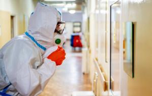 Prawie 60 pacjentów z COVID-19 w gdańskim szpitalu