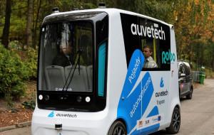 Bus bez kierowcy jeździ już po cmentarzu Łostowickim