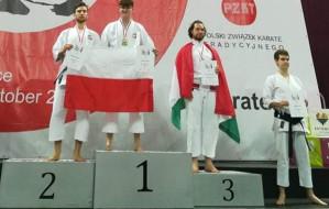 Mateusz Prondziński wicemistrzem Europy w karate