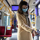 Z dozowników w tramwajach prawie nikt nie korzysta