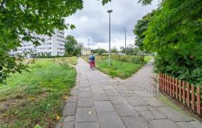 Nowy odcinek drogi rowerowej na Przymorzu ułatwi dojazd do parku Nadmorskiego