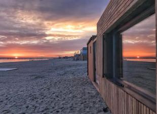 Jedyne w Polsce sauny na plaży z widokiem na morze