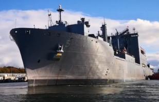 Amerykański okręt wszedł do portu w Gdańsku