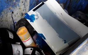 Cztery mandaty dla drukarni za nielegalne postępowanie z odpadami