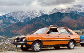 Trójmiejskie duże Fiaty i Polonezy odwiedzają Zakopane