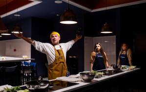 Wegeraper w Stacji Food Hall. Live cooking z Vieniem